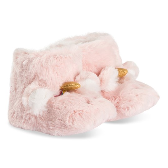 Tom Joule Unicorn Infants Slippers Pink Pink Unicorn