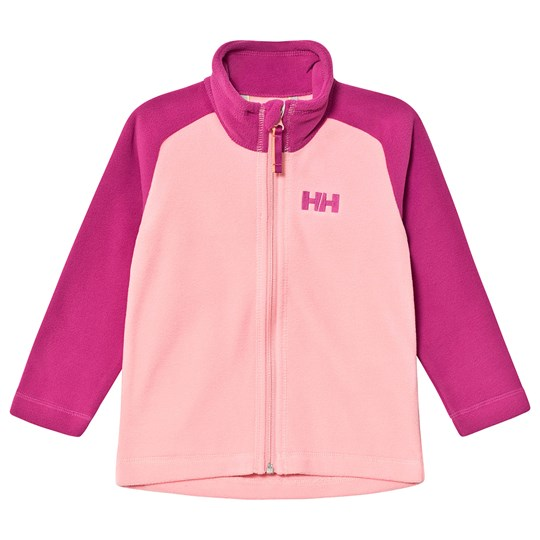 Helly Hansen Color Block Kids Daybreaker 2.0 Fleece Jacket Pink