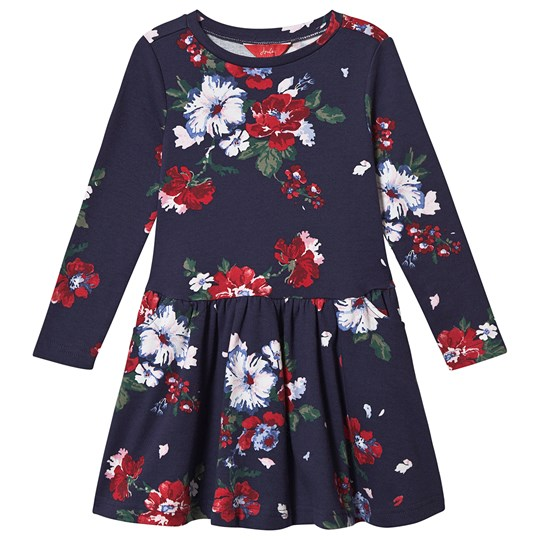 Tom Joule Floral Lila Swing Dress Navy NAVY DEVITO FLORAL