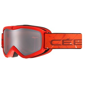 Image of Cébé Teleporter Ski Goggles Matte Red/Orange Extra-Small (1393673)