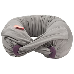 Image of bbhugme PregnancyPillow™ Stone/Plum med extra cover Dusty Pink One Size (1484166)