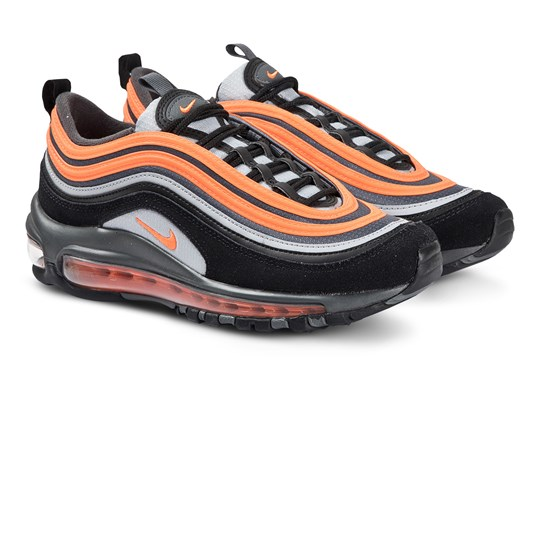 NIKE Air Max 97 Sneakers Wolf Grey/Total Orange/Svart 013