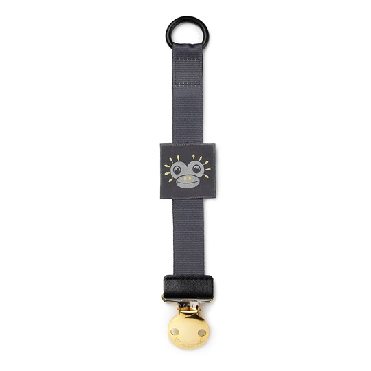Elodie Details Pacifier Clip - Playful Pepe Patch Playful Pepe Patch