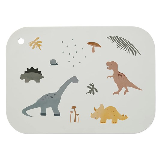 Liewood Feodor Placemat Dino Mix Beige