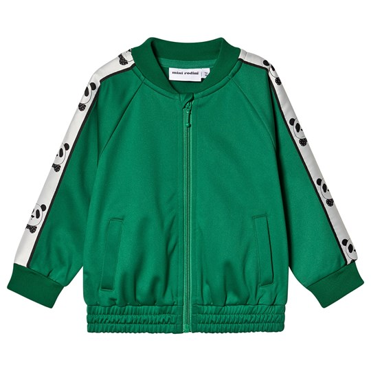 Mini Rodini Panda Jacket Green Green