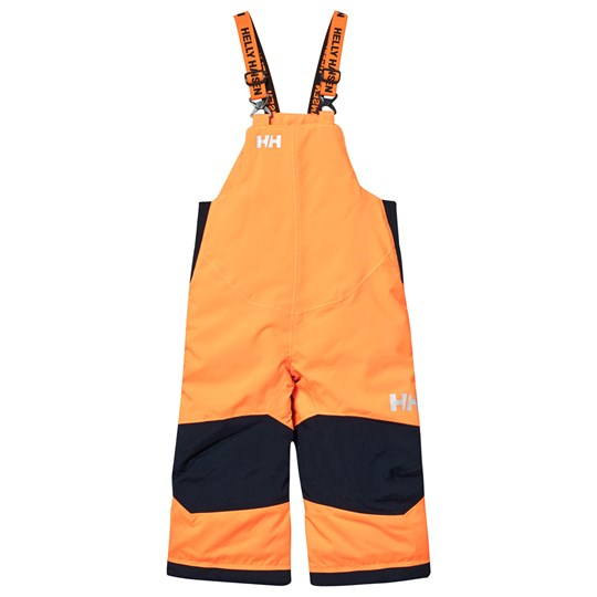 Helly Hansen Orange Kids Rider Ski Bib Pants 278