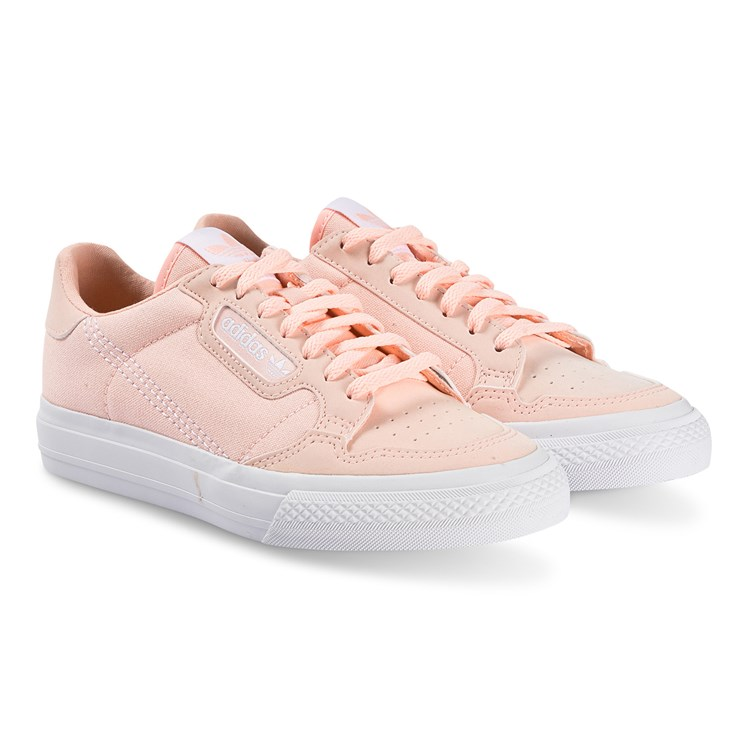adidas Originals Continental Vulc Sko Rosa Babyshop.no