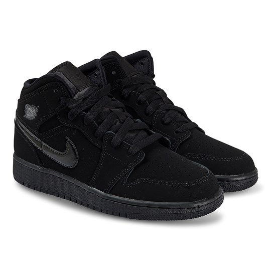Air Jordan Jordan 1 Mid Sneakers Black 056