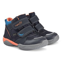 Superfit Storm Sneakers Blue/Orange