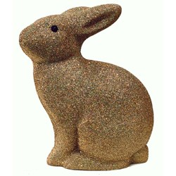 HEICO Rabbit Lamp Gold Glitter