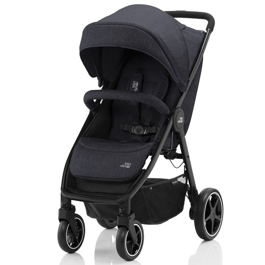 Britax B-Agile M Barnvagn Black Shadow Black Shadow