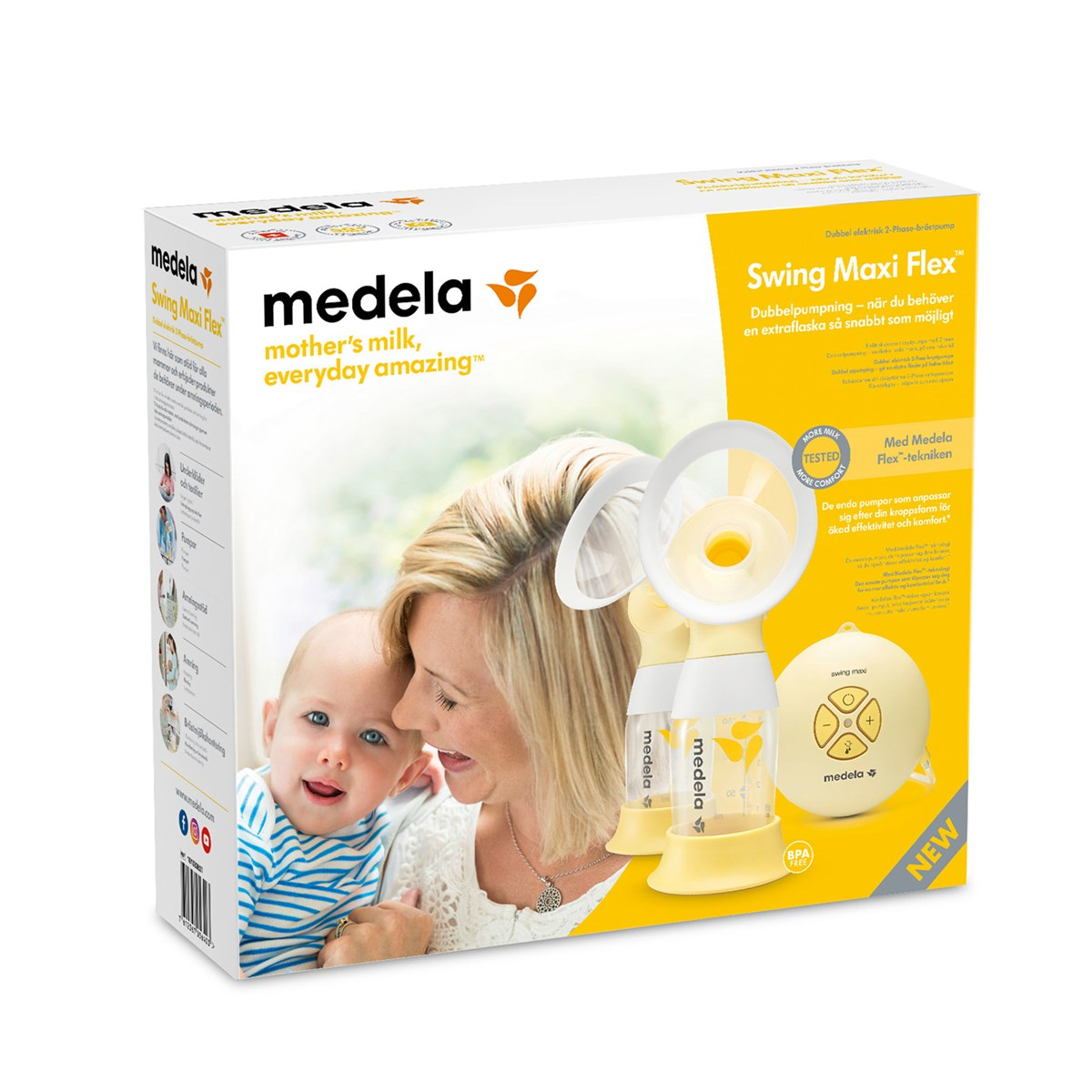 Medela Swing Maxi Flex Double Electric Breast Pump Babyshop Com