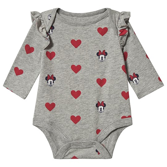 GAP Disney Baby Body Minnie Mouse Grey Heather GREY HEATHER