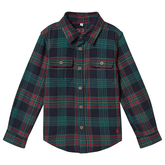 Tom Joule Multi Check Hamish Shirt Navy Navy Multi Check