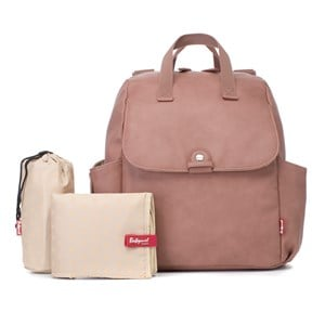 Image of Babymel Robys Convertible Backpack Faux Leather Dusty Pink One Size (1383803)