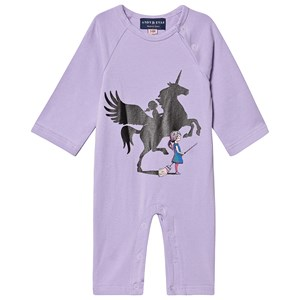 Image of Andy & Evan Unicorn Shadow Romper 6-9 mdr (1422968)