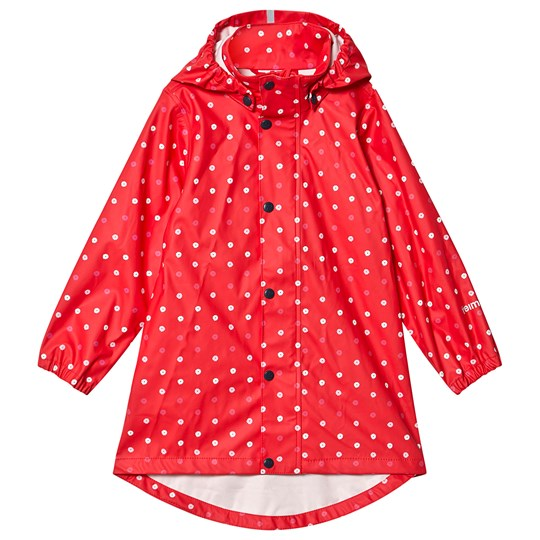 Reima Raincoat Usva Strawberry Red Red