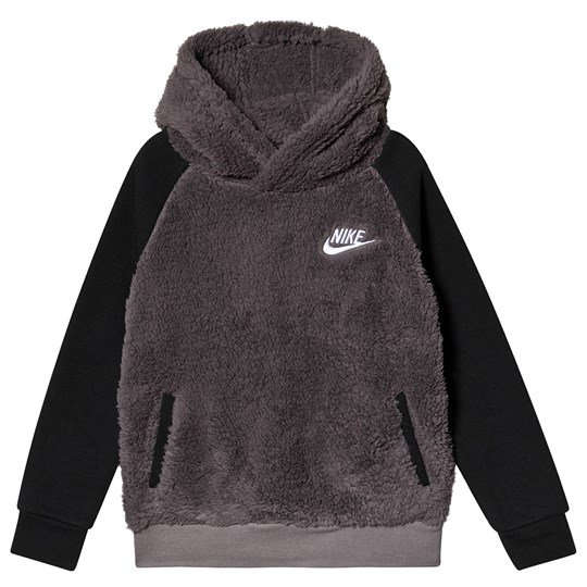 NIKE Hoodie Sherpa NIKE Sherpa Pullover Grey Pullover xeBrdCoW