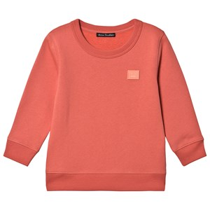 Image of Acne Studios Fairview Sweatshirt Pale Red 3-4 år (1546163)