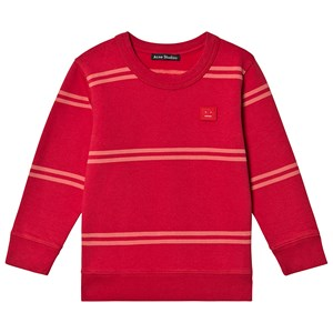 Image of Acne Studios Fairview Sweatshirt Poppy Red 3-4 år (1546203)