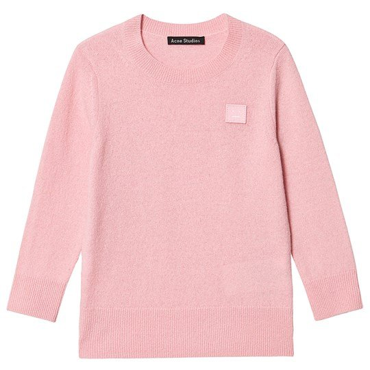 Acne Studios Logo Sweater Pink Blush Pink