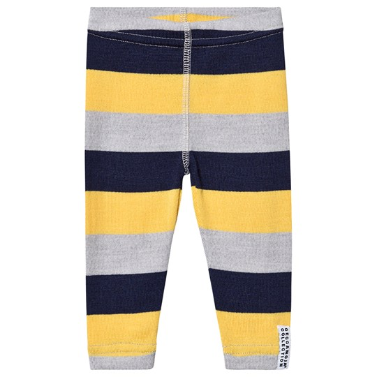 Geggamoja Striped Leggings Yellow YELLOW STRIPE