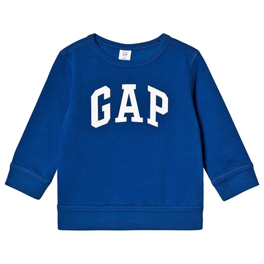 GAP Logo Sweatshirt Brilliant Blue Brilliant Blue