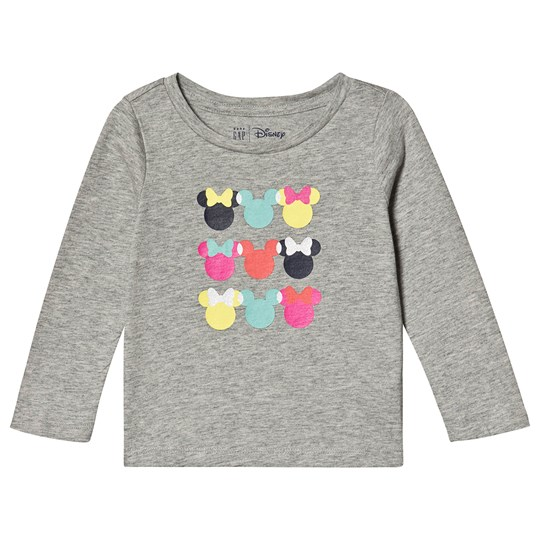 GAP Disney Minnie Mouse Top Grey MINNIE MOUSE