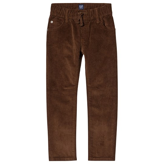 GAP Cheetah Brown Slim Cord Pants CHEETAH BROWN