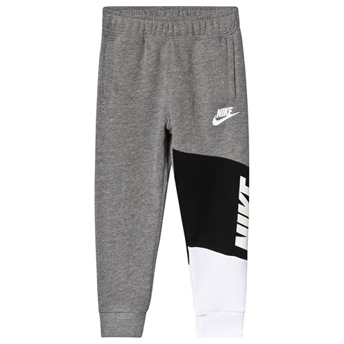 NIKE Color Block Fleece Joggebukse GråSvart Babyshop.no