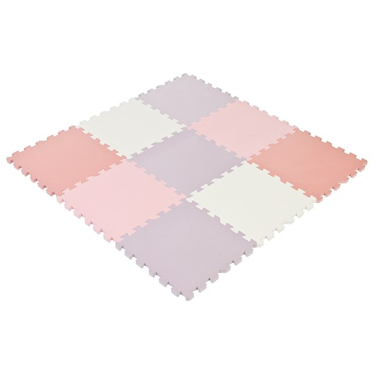 STOY Foam Puzzle Playmat Dusty Pink