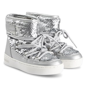 Image of Moon Boot Silver Disco Plus Moon Boots 29 (UK 11) (1374803)
