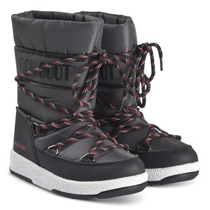 Image of Moon Boot Sports WP Boots Black and Castlerock 37 (UK 4) (1374827)