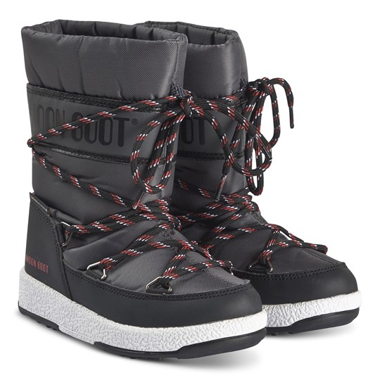 Moon Boot Sports WP Stövlar Svart/Castlerock BLACK/CASTLEROCK