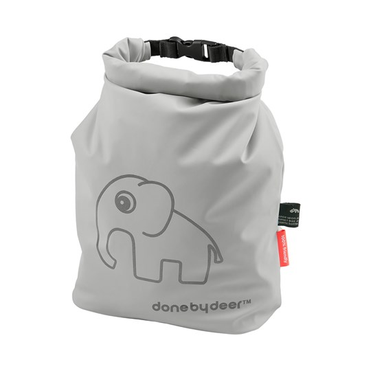 Done by Deer Elphee Roll-Top Storage Bag Grey Black