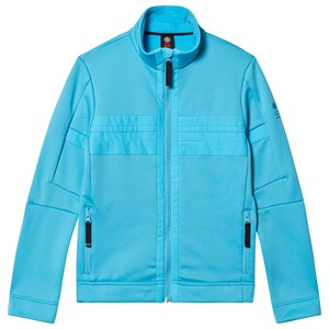 Image of Poivre Blanc Aqua Blue Stretch Fleece med Lynlås 8 years (1487091)