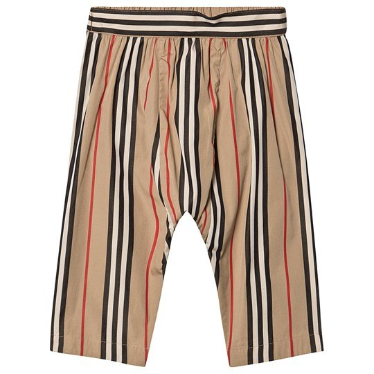 Burberry Icon Stripe Poplin Pants Archive Beige A7029