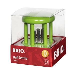 Image of BRIO BRIO® Baby – 30055 Bell Rattle Grøn One Size (1480139)