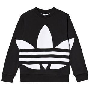 Image of adidas Originals Big Trefoil Logo Crew Sweatshirt Sort 10-11 years (146 cm) (1506232)