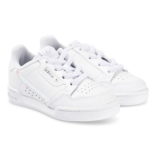 adidas Originals Continental 80 Infants Sneakers White and Iridescent FTWR WHITE/FTWR WHITE/CORE BLACK