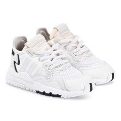 adidas Originals Nite Jogger Infants Sneakers White
