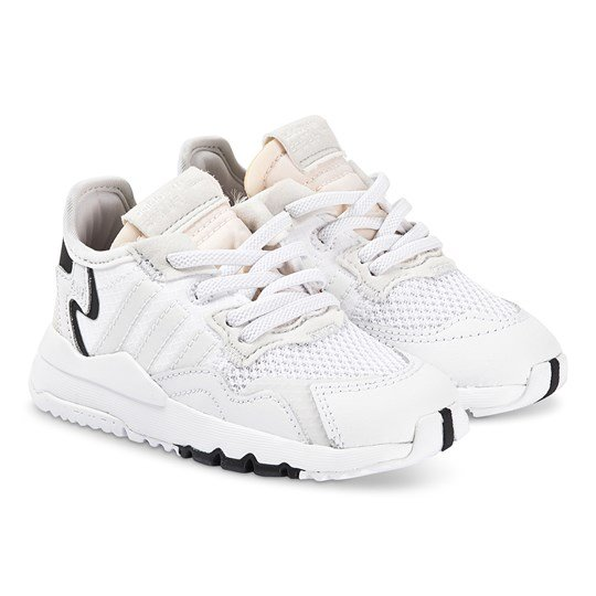adidas Originals Nite Jogger Infants Sneakers White ftwr white/ftwr white/crystal white