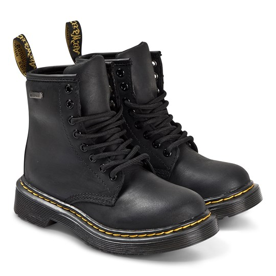 Dr. Martens Waterproof 1460 8 Eye Boots Black 001