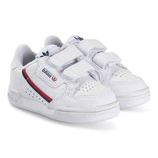 adidas Originals Continental 80 Infants Sneakers Vit/Marinblå ftwr white/ftwr white/scarlet