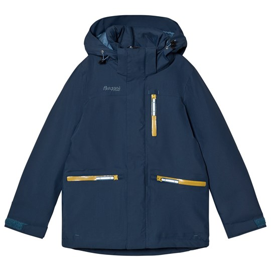 Bergans Alme Insulated Youth Jacket Steel Blue Blue