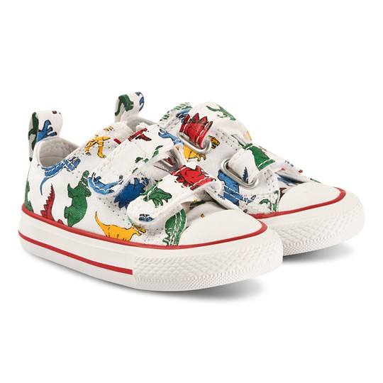 Converse Dinos Chuck Taylor Velcro Sneakers White White