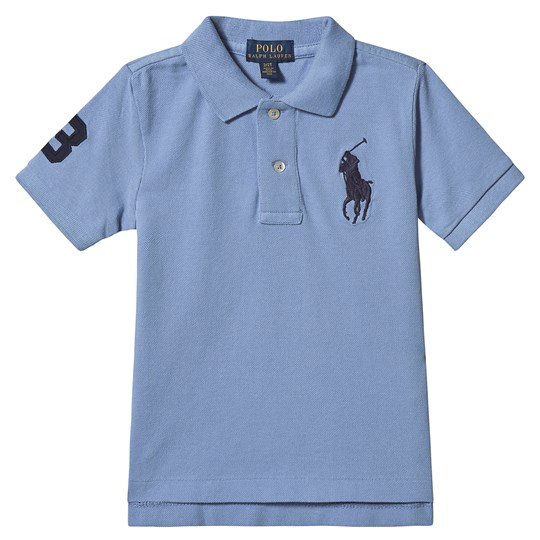 Ralph Lauren Big Logo Polo Blue 035