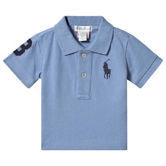 Ralph Lauren Big Logo Infant Polo Blue 027