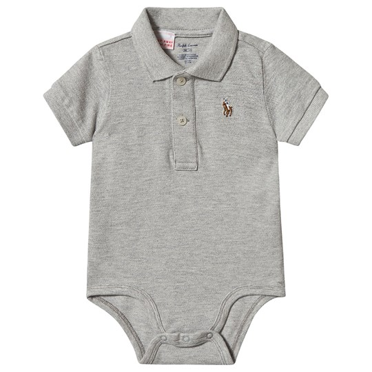Ralph Lauren Polo Baby Body Grey 004