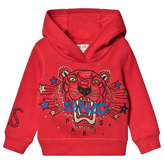 Kenzo New Year Tiger Hoodie Red 38